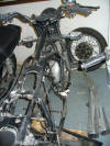 Honda CB750k stripped